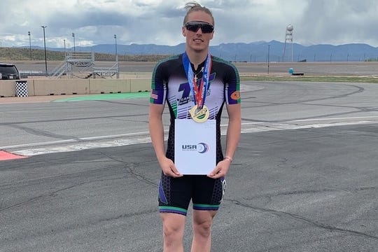 James Sadler, a 17-year-old inline speed skater, will represent the U.S. at the 2019 World Roller Games.