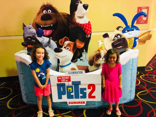 "Apollonia and Viv Acevedo had a movie adventure with ""The Secret Life of Pets 2."""