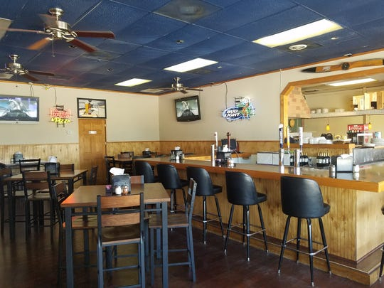 Roma Pizza is at 978 S.W. Martin Downs Blvd. in Palm City. It is much roomier than anticipated.