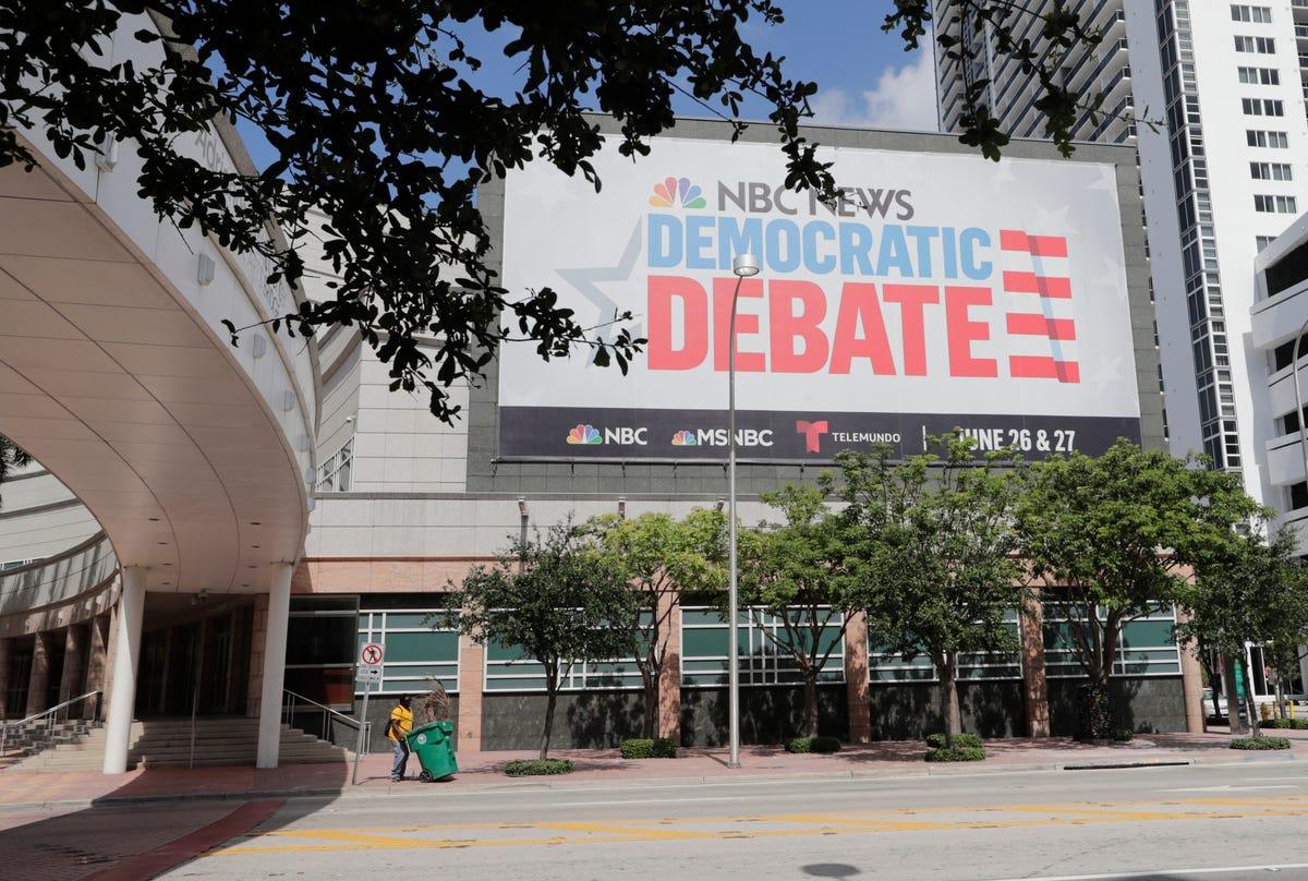 Democratic debate: Live coverage from Wednesday's DNC debate