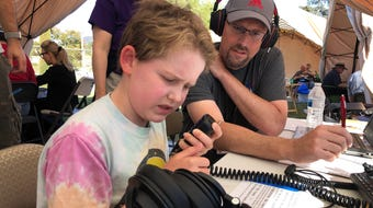 For 24 hours last weekend, ham radio operators set up camp in Newbury Park for an annual Field Day exercise in emergency communications.