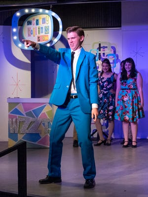 Jake Mizner rehearses for Hairspray at Encore Theatre on Monday, June 24, 2019. Hairspray opens Friday, June 28 and continues  on 29, 30, July 5, 6, 7 9, 10, 11, 12 and 13.