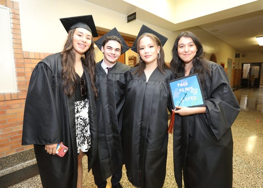 Mamaroneck High School Graduation ceremony June 24, 2019.