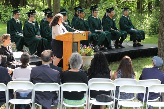 Rockland Country Day School graduation in Congers June 14, 2019.
