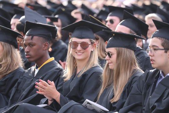 Mamaroneck High School Graduation ceremony June 24, 2019.