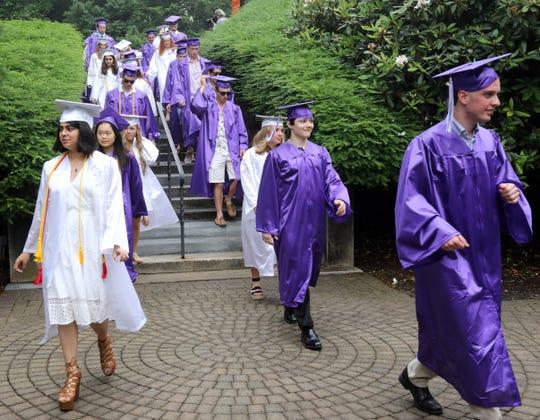 John Jay High School held its graduation at Caramoor June 25, 2019 in Katonah.