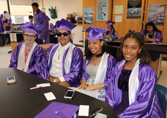 New Rochelle High School held their 121st commencement exercises at the school in New Rochelle, June 25, 2019.