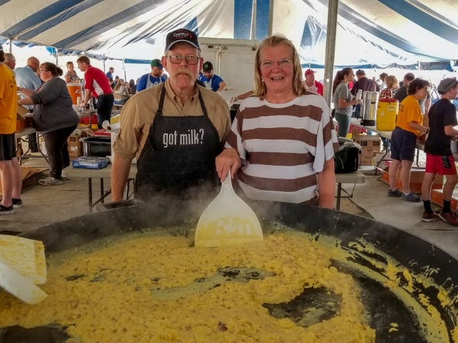 Ray and Rae Nell Halbur are familiar faces on the dairy scene, volunteering their time in their local community and around the state, including the annual Fond du Lac Area Breakfast on the Farm, an event near and dear to their hearts.