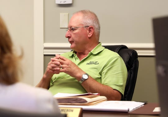 Tim Smith resigned his post as chairman of the board for the Muskingum County Land Bank in June. He will remain as the city's representative on the land bank.