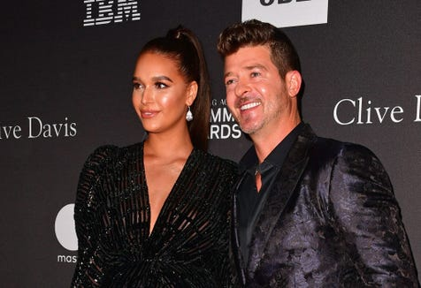 Robin Thicke, April Love Geary get burned for feeding toddler Flamin' Hot Cheetos