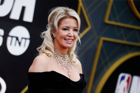 Los Angeles Lakers owner Jeanie Buss.