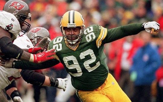 Reggie White was inducted into the Pro Football Hall of Fame in 2006.