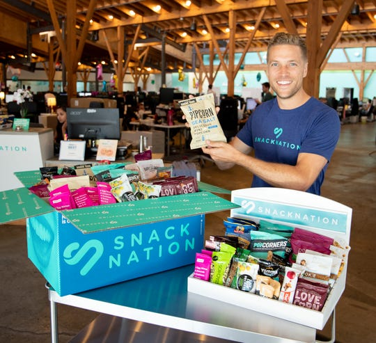 SnackNation CEO Sean Kelly
