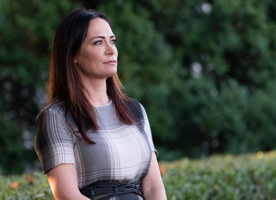Stephanie Grisham, spokeswoman for first lady Melania Trump, has been named the new White House press secretary.
