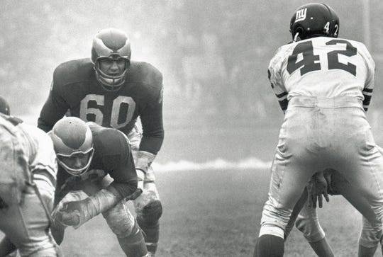 Chuck Bednarik was the NFL's last full-time two-way player.
