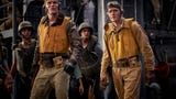 """Director Roland Emmerich brings the Battle of Midway to the big screen in """"Midway,"""" starring Ed Skrein, Mandy Moore, Nick Jonas and Patrick Wilson."""