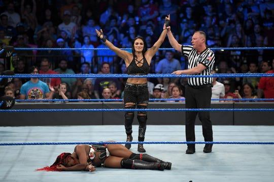 Shamong native Sonya Deville, born Daria Berenato, is the first openly lesbian wrestler in WWE history.