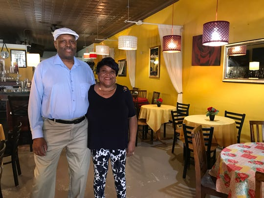 Charles and JoAnn Knox, owners of Rafaynee Southern Cuisine in downtown Battle Creek, will use the $50,000 they received from Battle Creek Unlimited to make kitchen improvements and hire employees.