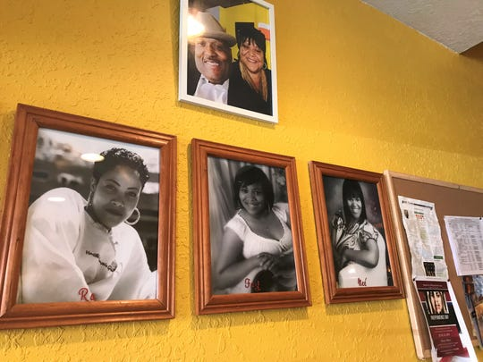 Rafaynee Southern Cuisine is named after the owners, Charles and JoAnn Knoxes' three children:  Carla Racquel, Fallon Faye and Felicia Renee.