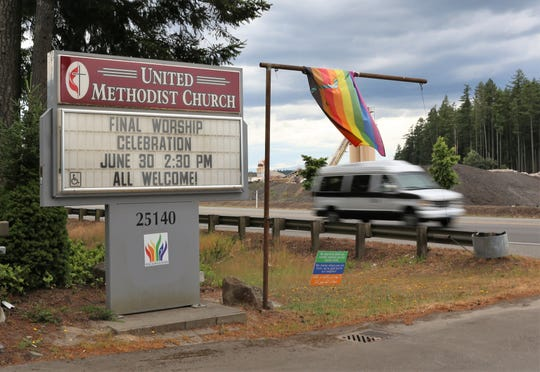 The LQBTQ-affirming North Mason United Methodist Church will host its final service on June 30.