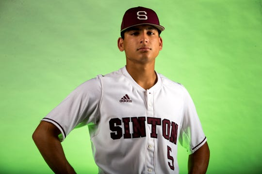 All-South Texas Baseball Newcomer of the Year Rylan Galvan from Sinton.