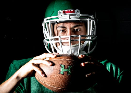 Beeler has high goals for this season, wanting to be Player of the Year, and wanting to help Huntington have its first winning season in over a decade.