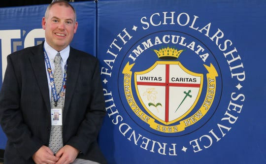 Ed Webber, new dean of students at Immaculata High School