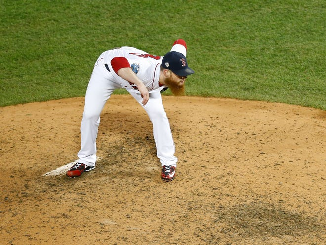 Craig Kimbrel could have pitched in his final game with the Iowa Cubs on Tuesday.