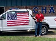 Ford asks Alabama car dealer to end shotgun giveaway after California shooting