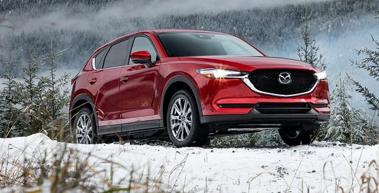 The CX-5's new turbocharged SKYACTIV-G 2.5T engine delivers 310 lb-ft torque at 2,000 rpm and 250 horsepower at 5,000 rpm (on 93 octane).