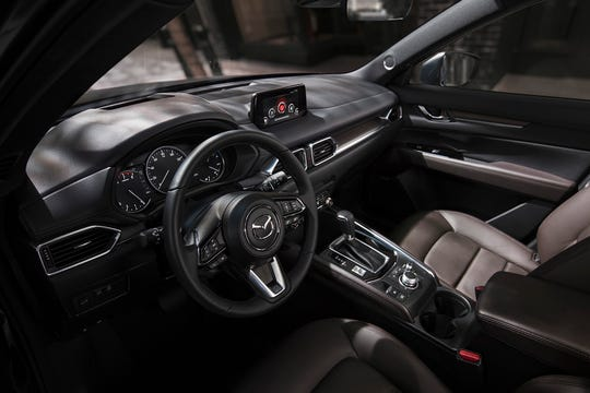 The 2019 Mazda CX-5 features newly available heated rear seats and steering wheel.