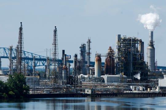 The Philadelphia Energy Solutions Refining Complex in Philadelphia.