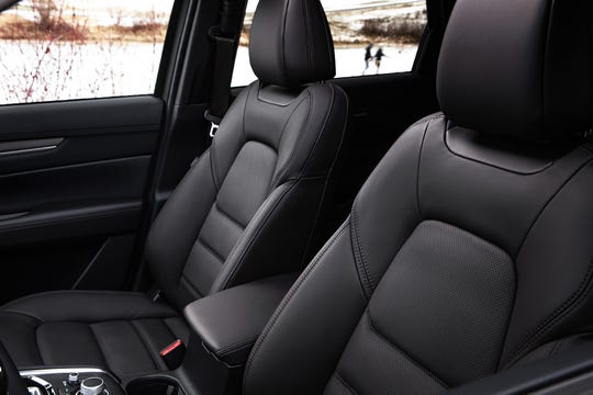The 2019 Mazda CX-5 features new ventilated front seats.