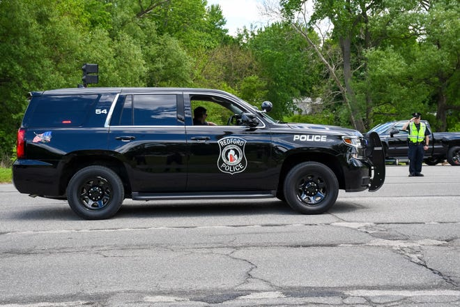Redford Township Police vehicle