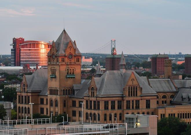 Wayne State University Old Main building in Detroit