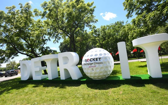 The Rocket Mortgage Classic begins Thursday at Detroit Golf Club.