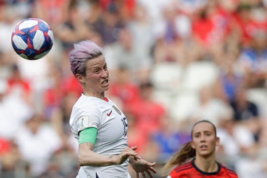 President Donald Trump called out U.S. women's national team co-captain Megan Rapinoe after a months-old video was posted on social media in which she used profanity when she said she wasn't going to the White House if the team wins the Women's World Cup.