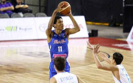 Evansville target Dyondre Dominguez played for the Puerto Rico U-18 National Team last summer.