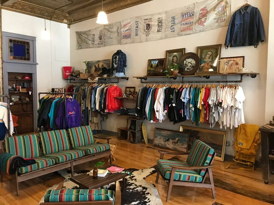 Locals Only Vintage Collective sells a mix of vintage clothes, art, headware, accessories and housewares. The inventory rotates on a regular basis.