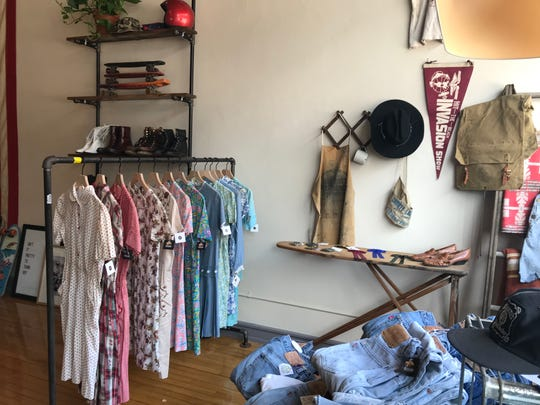 Locals Only Vintage Collective, a new vintage store in De Pere, has a mix of women's and men's clothing as well as accessories and housewares.