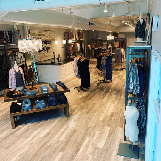 The interior of Mainstream Boutique, which opened May 1 on North Broadway in Green Bay.