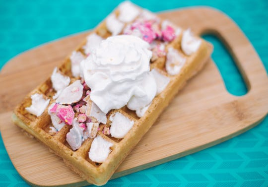 "The ""Party Animal"" waffle"