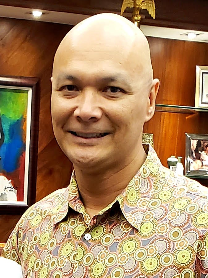 Guam State Historic Preservation Officer Patrick Lujan.