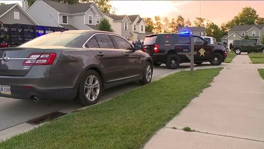 Local FBI agents were seen working early Wednesday at a home in the 3100 block of Hope Springs Court.
