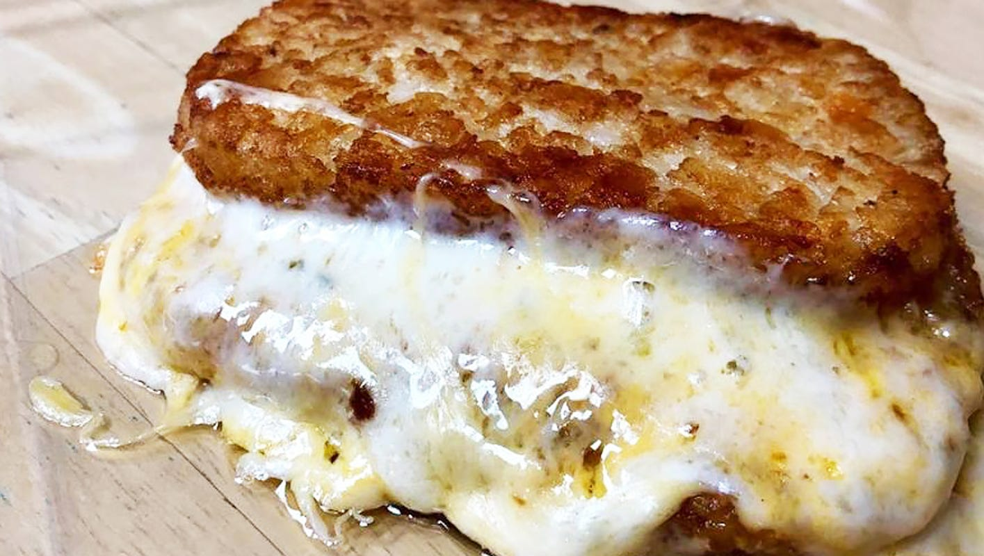 Hash brown grilled cheese! Here are 22 new foods at the 2019 Indiana State Fair