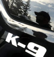A K-9 unit is shown in this file photo