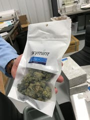 Green Peak Innovations is a facility in Windsor Township that grows several different strains of marijuana. It plans to open a chain of Skymint brand dispensaries in Michigan.