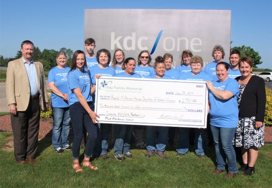 Holy Family Memorial has announced KDC/ONE Northern Labs as the winner of Move Manitowoc, a month-long community step challenge held in May.
