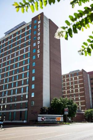 Methodist University Hospital at 1265 Union Avenue in Memphis, Tennessee.