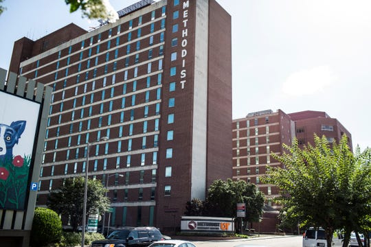 Methodist University Hospital at 1265 Union Avenue in Memphis, Tennessee.